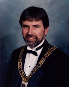 Most Worshipful Brother David W. Barron