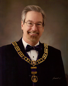 Most Worshipful Brother Dean D. Rein