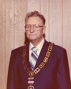 Most Worshipful Brother Frank R. Begley