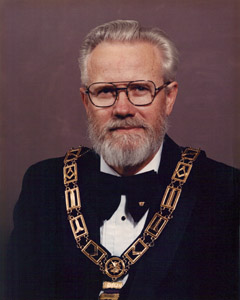 Most Worshipful Brother J.C. McLaughlin