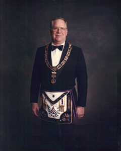 Most Worshipful Brother James A. Bud McIntire