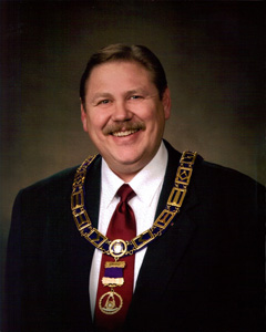 Most Worshipful Brother Robert K. Chapman